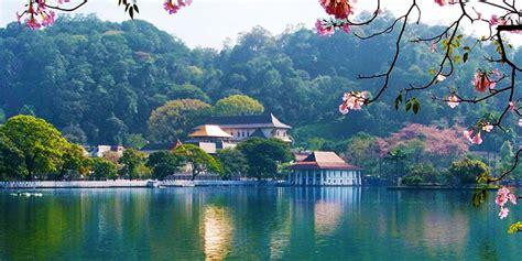 kandy city  sri lanka economy tours