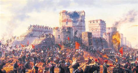 ottoman capture of constantinople the conquest of constantinople the heralding in a new era