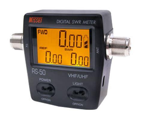Nissei Digital Swr Power Meter Rs 50 Made In Taiwan nissei rs 50 swr 120w power meter vhf 140 150mhz uhf 430 450mhz swr power meters at 163 69 95