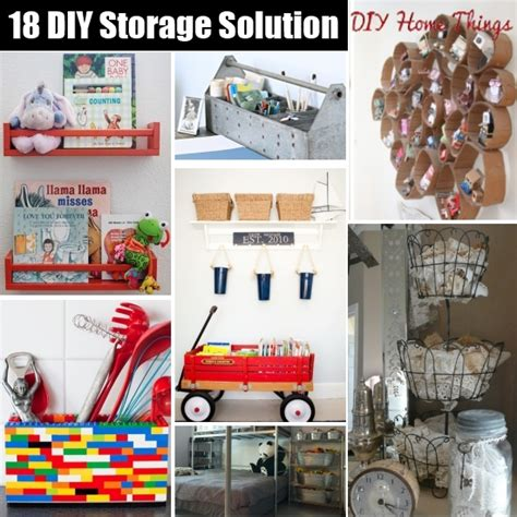 easy diy crafts with household items 18 innovative storage solutions with common household