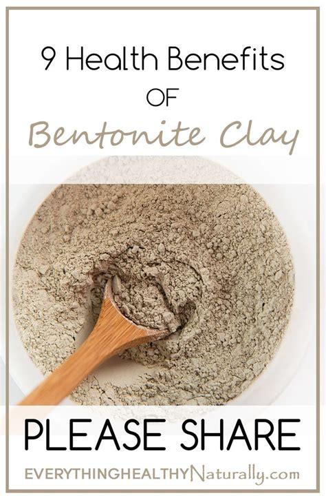 Benefits Of Bentonite Liquid Detox by 17 Best Images About Health Benefits Of Bentonite Clay On