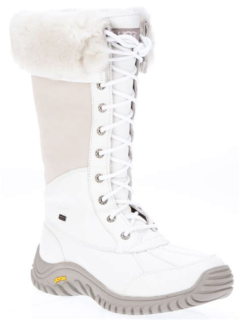 uggs snow boots for ugg adirondack snow boot in white lyst