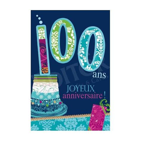 modele lettre anniversaire centenaire