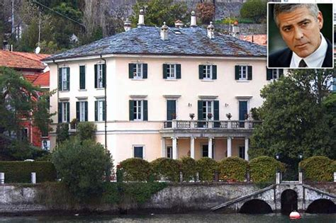 george clooney homes george clooney s home celebrities their homes pinterest