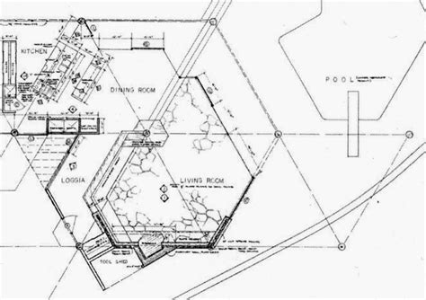 geometric house plans john lautner s harpel house 1956 parson architecture the blog