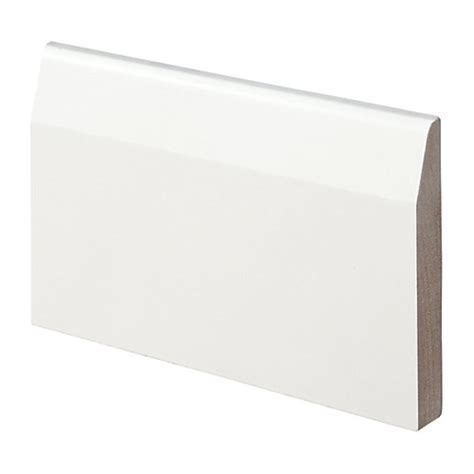 Home Again Interiors Wickes Fully Finished Mdf Chamfered Skirting 14 5 X 94 X