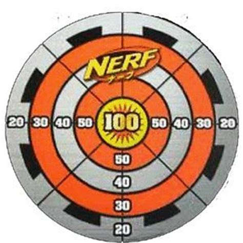 printable targets nerf nerf target google search party ideas pinterest