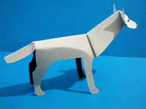 How To Make A Paper Wolf - paper wolf