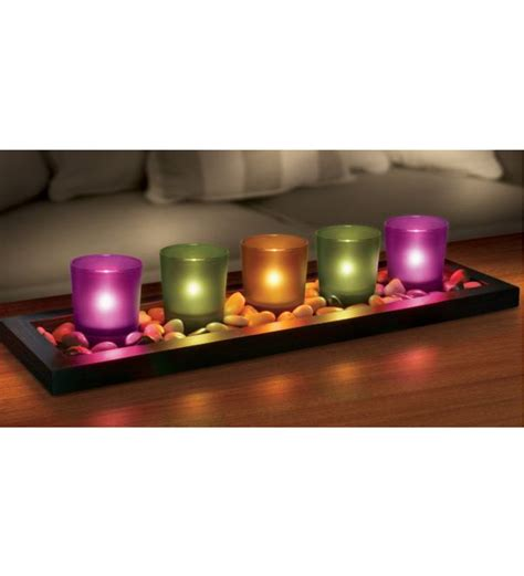candle home decor jewel tone candle set by market finds online candles
