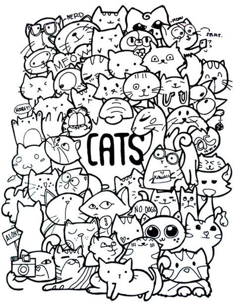doodle cat best 25 cat doodle ideas on cat drawing