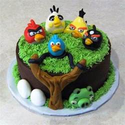 buy angry bird cake online in bangalore order angry bird cake chefbakers