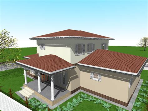 How To Decorate A 3 Bedroom House by House Design And 3d Floor Plans With 3 Bedrooms On Two