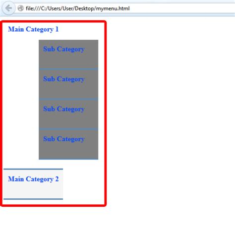 design drop down menu css how to create css horizontal drop down menu howtech