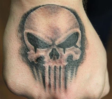 the punisher tattoo 15 punisher designs tattoos