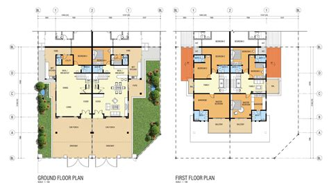 cluster home floor plans cluster home floor plans home plan reem mira oasis floor