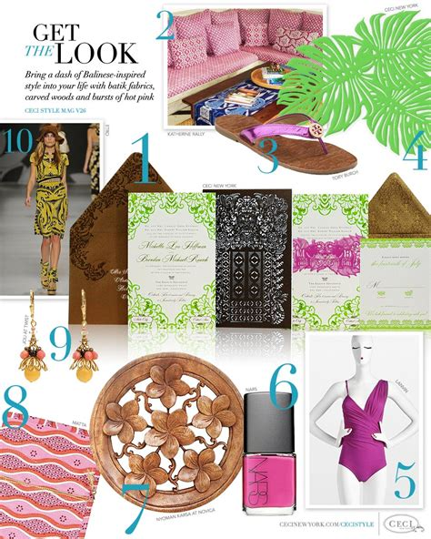 balinese themed wedding invitations v26 get the look bali escape ceci style
