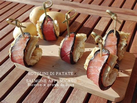 preparazioni di base ricette a prova di bina rotolini di patate e salmone affumicato ricette a prova