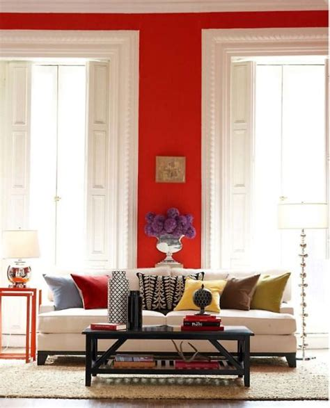 red accent wall red walls white trim jewel tone accent colors dream