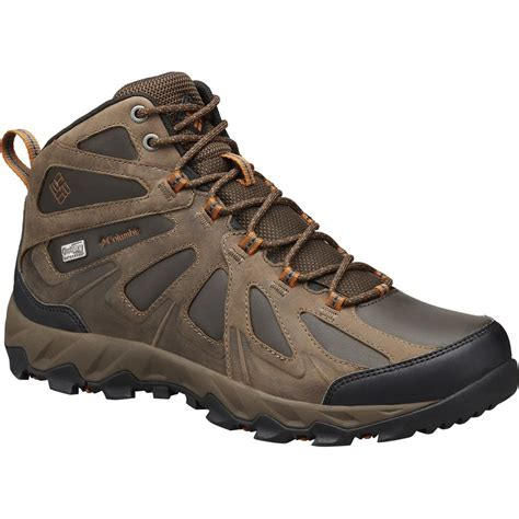 columbia mens hiking boots columbia peakfreak xcrsn ii mid leather outdry hiking boot