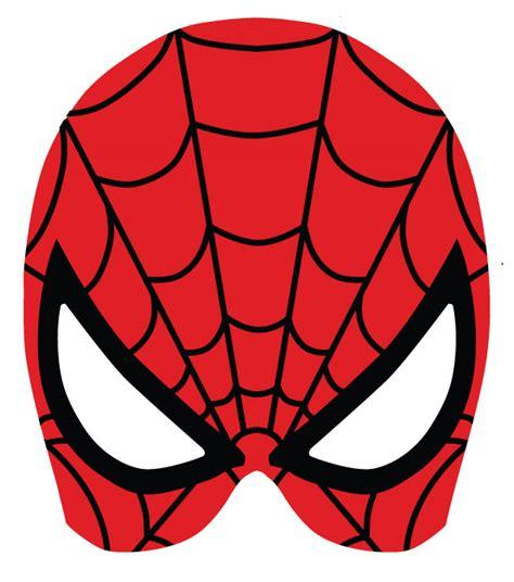 printable mask of spiderman superheroes masks on behance