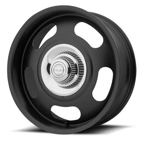 custom black american racing custom wheels vn506 rally one piece wheels