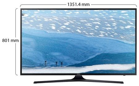 samsung 60 inch 4k ultra hd led smart tv 60ku7000 souq uae