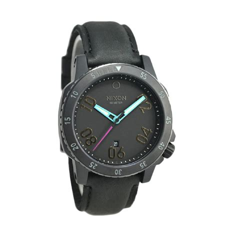 Setting Jam Tangan Nixon jual nixon a5081320 jam tangan pria black harga kualitas terjamin blibli