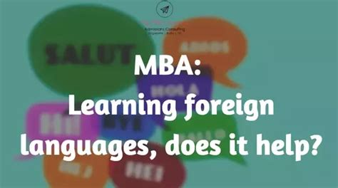 How Much Do Mba Interns Save Usuallt by How Much Does Learning A Foreign Language Help In Acing