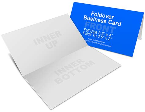 21 folded business cards for your inspiration business