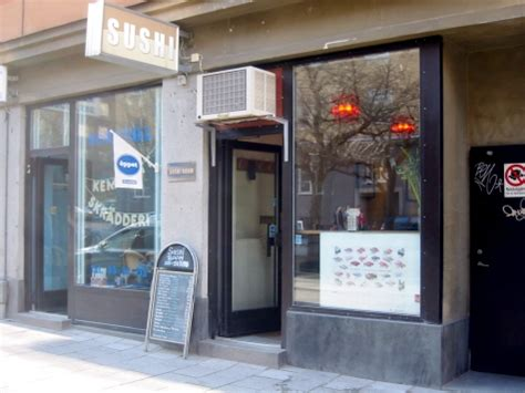 sushi room restaurangkartan se 187 sushi room 187 exteri 246 r
