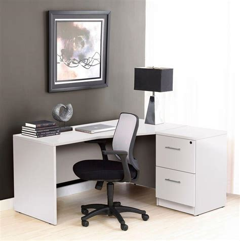 white desk with two file drawers premium white crescent desk with two file drawers