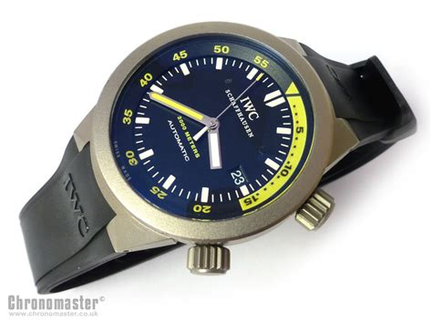 IWC Aquatimer In Titanium Bracelet and Strap IWC 176   Chronomaster UK