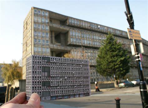 brutal london brutal london paper miniatures of concrete architecture urbanist
