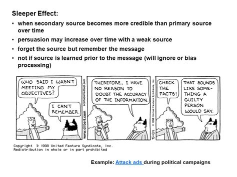 Sleeper Effect Marketing by Political Audience Reaction Ratings Ppt