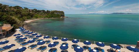 spiagge porto santo stefano villa domizia hotel quattro stelle con ristorante e