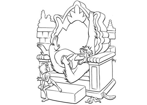 jungle monkey coloring pages 18 fresh jungle book coloring pages gekimoe 27717