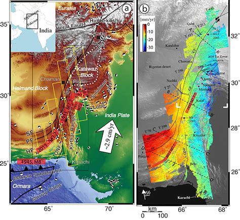 earthquake zones in pakistan study reveals new earthquake hazard in afghanistan