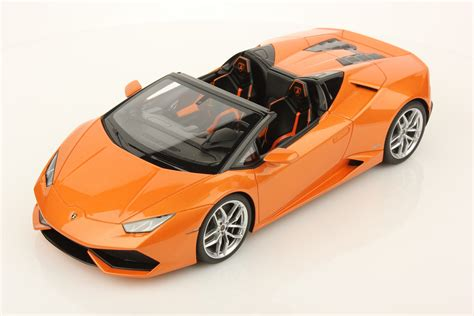 lamborghini huracan lp 610 4 spyder 1 18 mr collection