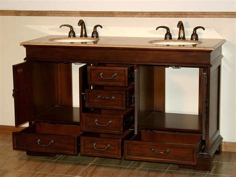 bathroom vanity plus 6715 t 60 60 double sink vanity travertine top cabinet