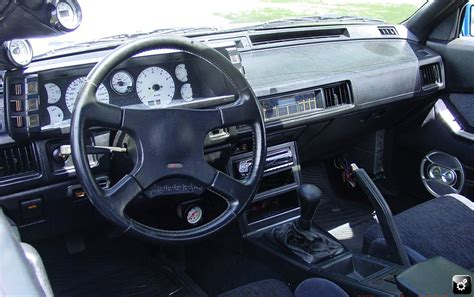 mitsubishi starion dash pics for gt dodge conquest interior
