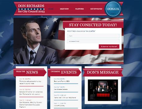 21 Political Website Themes Templates Free Premium Templates Political Website Templates