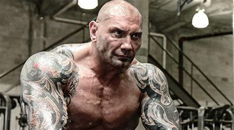 dave batista bench press animal instinct bautista is on another level muscle fitness