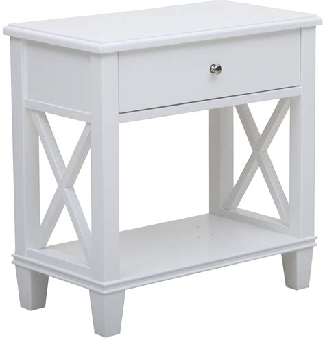 white side table with shelves clean white shelf side table from pulaski ds a092018