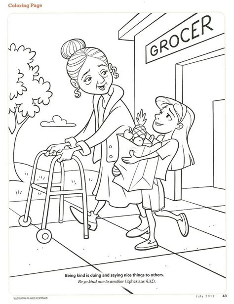 coloring pictures of kindness the fruit of the spirit coloring pages coloring home