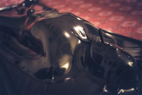 latex vac bed your photos