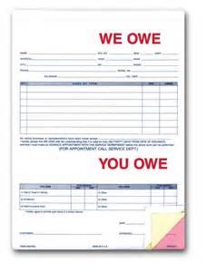 i owe you form free printable documents