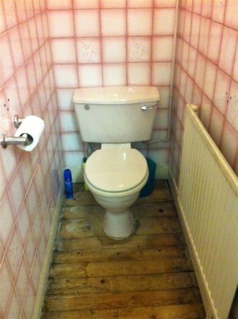 Replace old toilet and plumb in washing machine   Plumbing