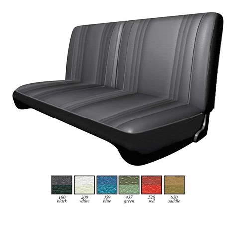 Classic Car Upholstery Kits by Mopar Parts Interior Soft Goods Seat Upholstery