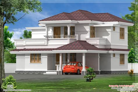 home plans designs 1760 sq kerala style villa kerala home