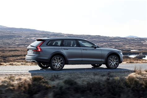 volvo unveils v90 cross country wagon motor trend